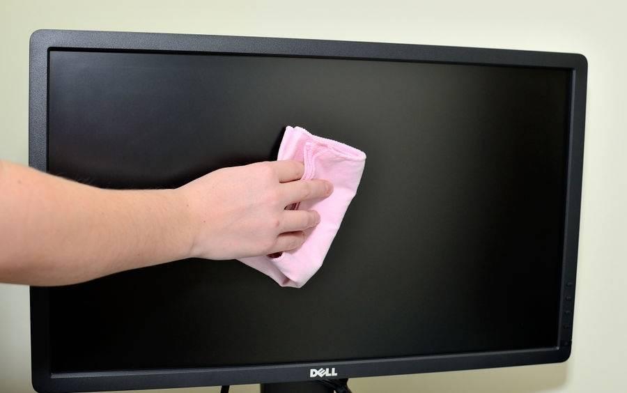 Чем протирать жк-экран телевизора, монитор компьютера и ноутбука в домашних условиях