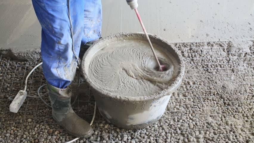 Правильный состав бетона для отмостки: пропорции в ведрах, приготовление своими руками