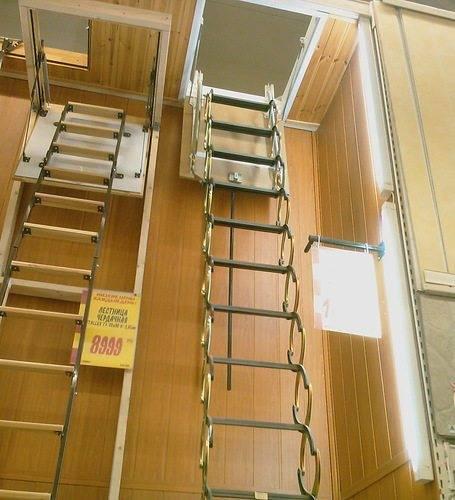 Декоративная складная лестница