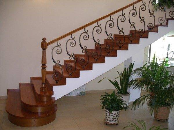 Что такое П-образная лестница