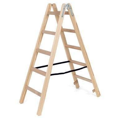 Деревянная стремянка более безопасна при работе с электричеством.