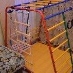 Детский спортивный комплекс для дома с лестницей