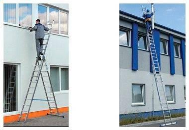 Для произведения работ на высоте с данным устройством не требуется прибегать к помощи страхующего