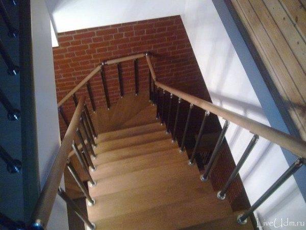 Достаточно крутая лестница