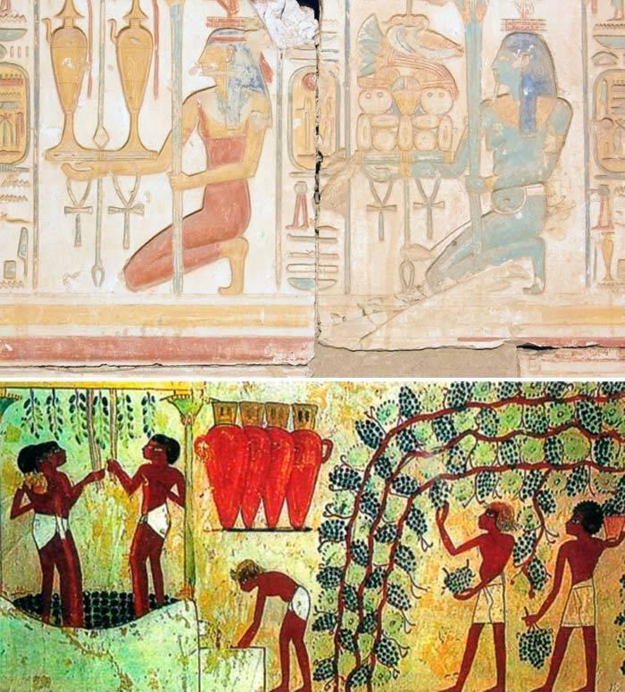 Вино древнего Египта