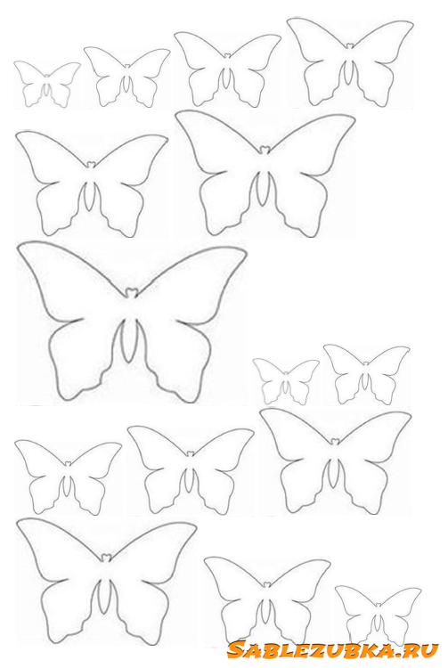 Бабочки на стену — 95 фото вариантов дизайна стены и украшение своими руками