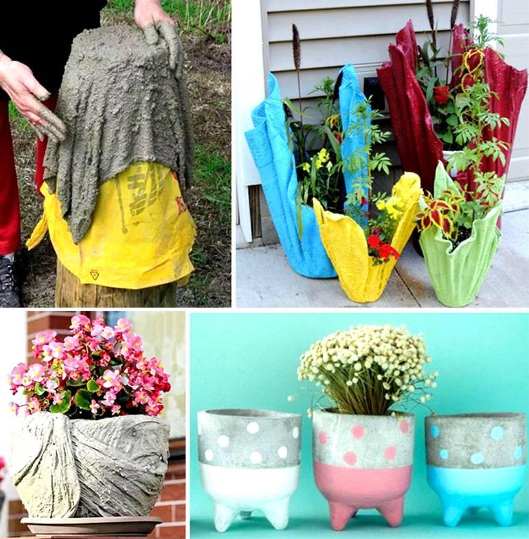 100+ идей (45 фото) | кашпо для цветов своими руками