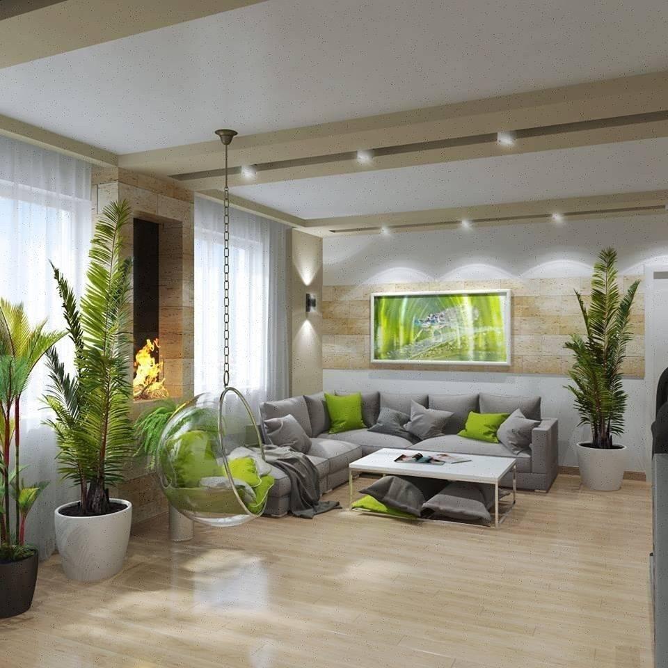 Оформляем интерьер зала в частном доме: 8 советов