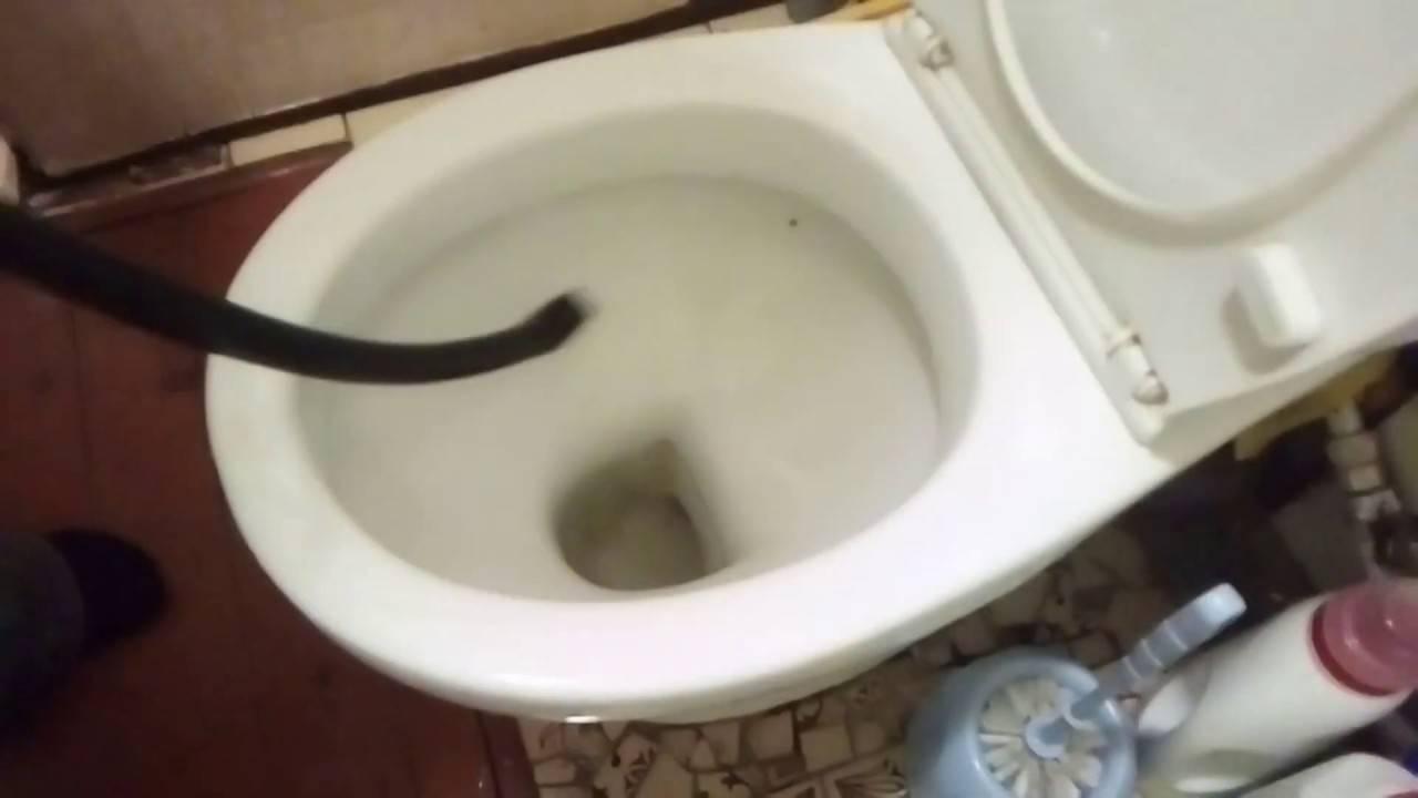 Забился унитаз как прочистить самостоятельно