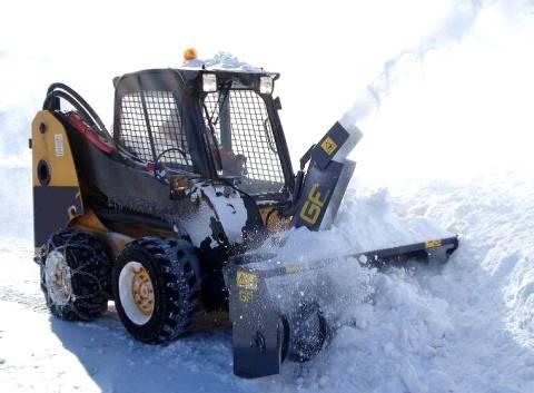 Все о роторных снегоочистителях