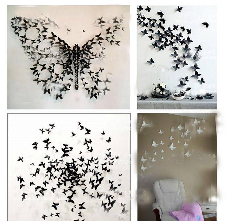 Оригинальный декор бабочками: фото, советы, материалы