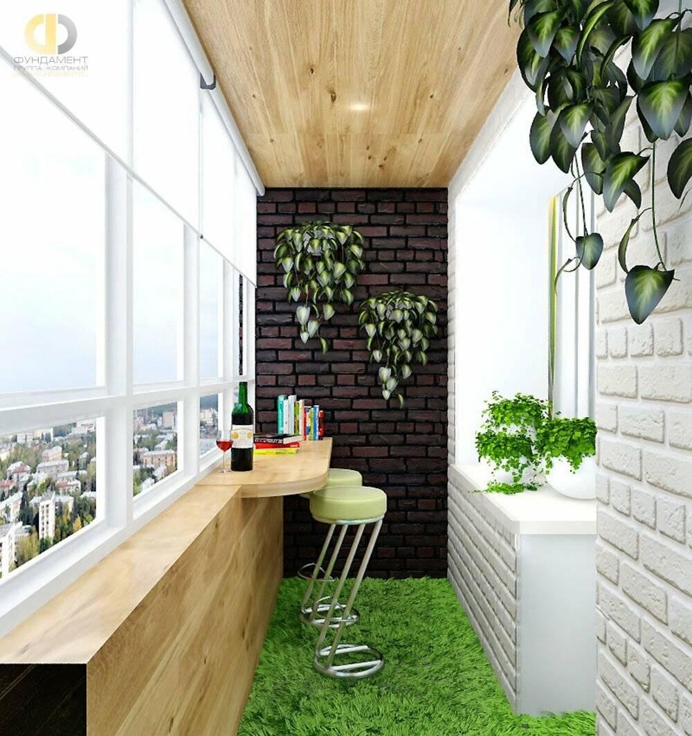 Декор балконов и лоджий фото