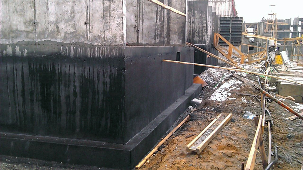 Применение жидкой резины для гидроизоляции фундамента