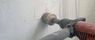 Ударная дрель по бетону: как называется, каким сверлом можно просверлить