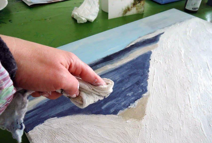 Эффективно удаляем акриловую краску с любой поверхности
