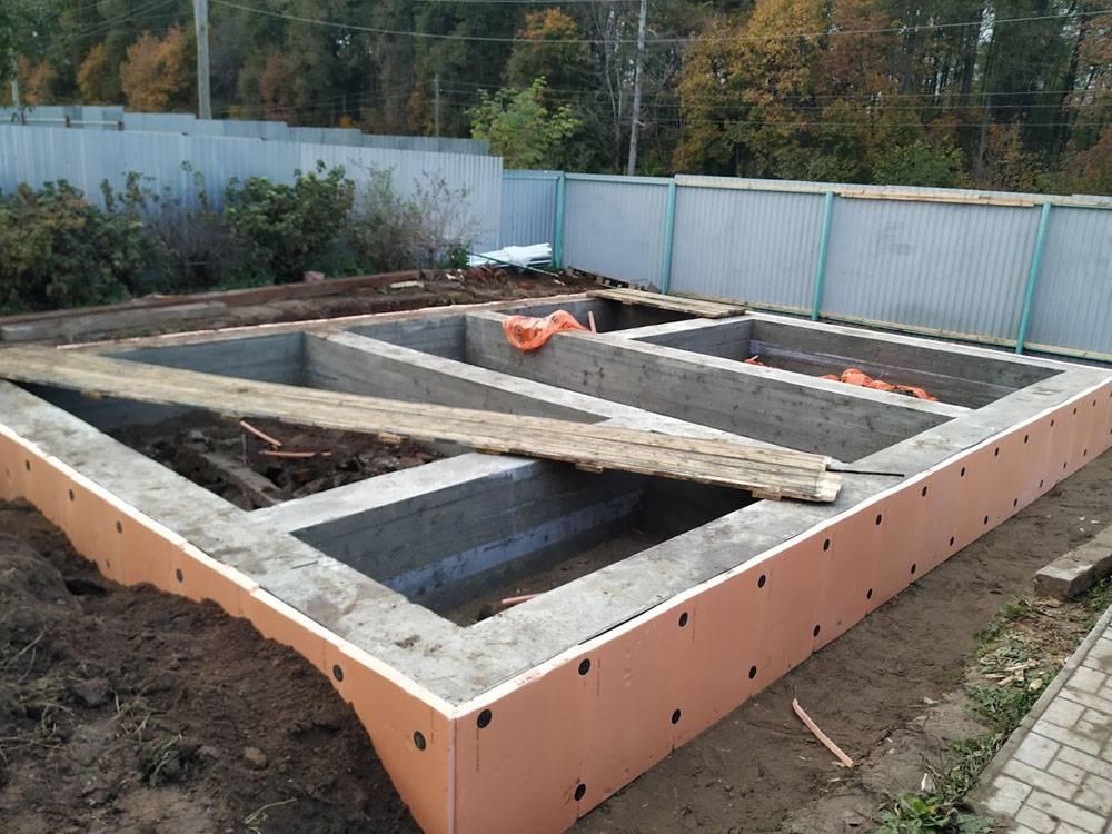 Возводим ленточный фундамент для каркасного дома