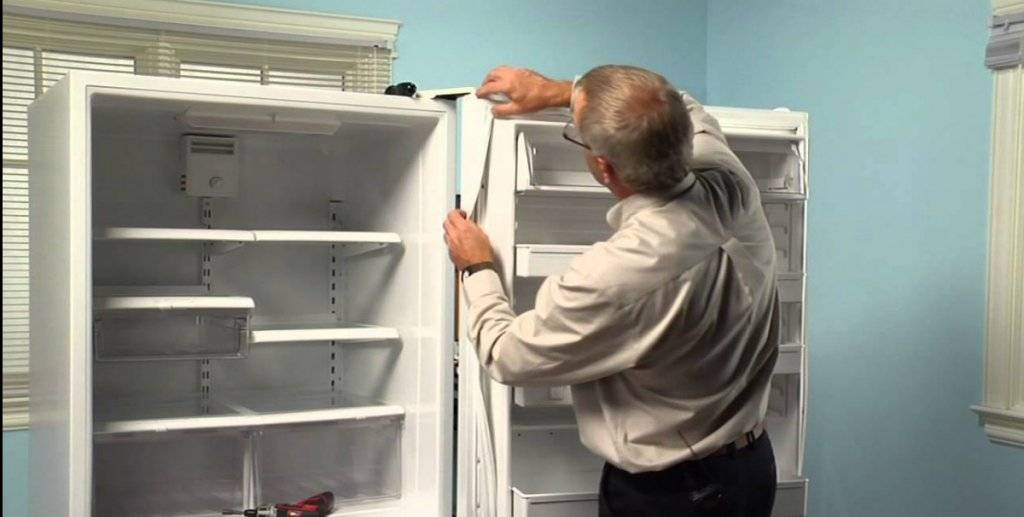 Пошаговая инструкция по правильному ремонту дверцы холодильника своими руками