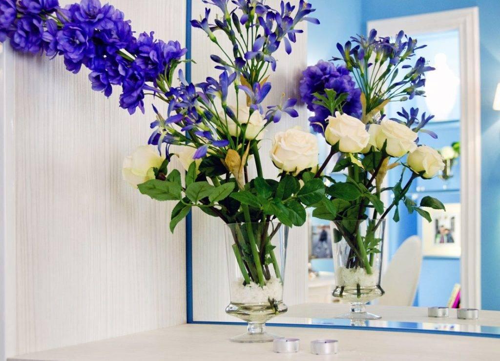 Цветы в интерьере квартиры и дома