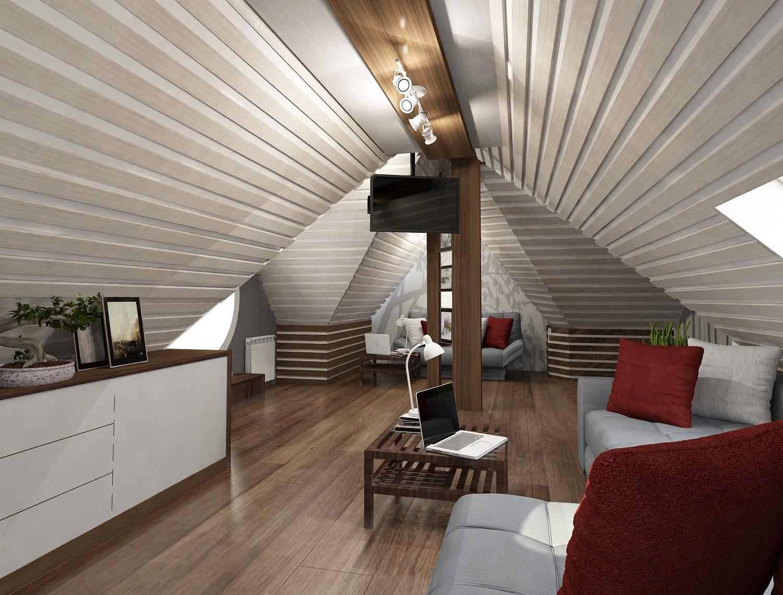 ржд действует отделка мансарды деревянного дома внутри фото дизайн