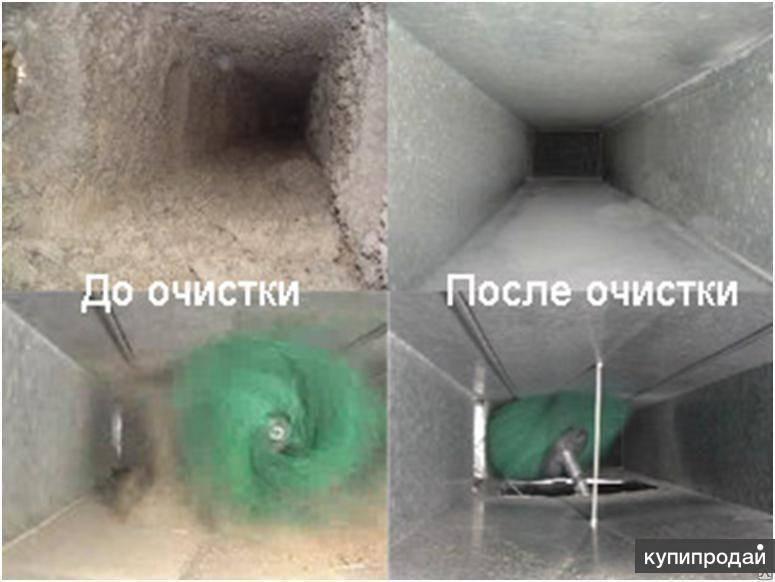 Очищение от пыли вытяжных вентиляционных решеток