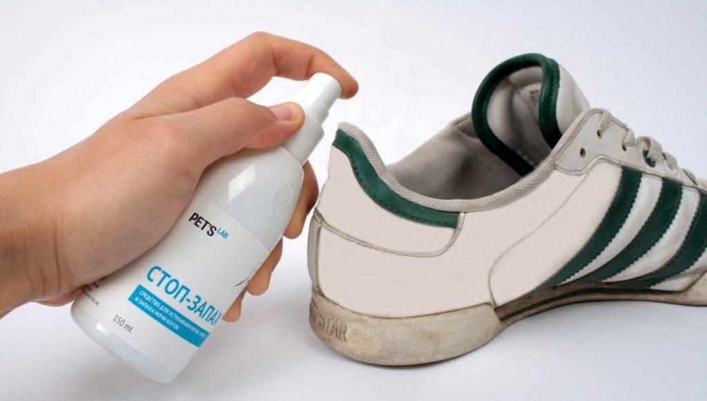 Как быстро избавиться от запаха пота в обуви