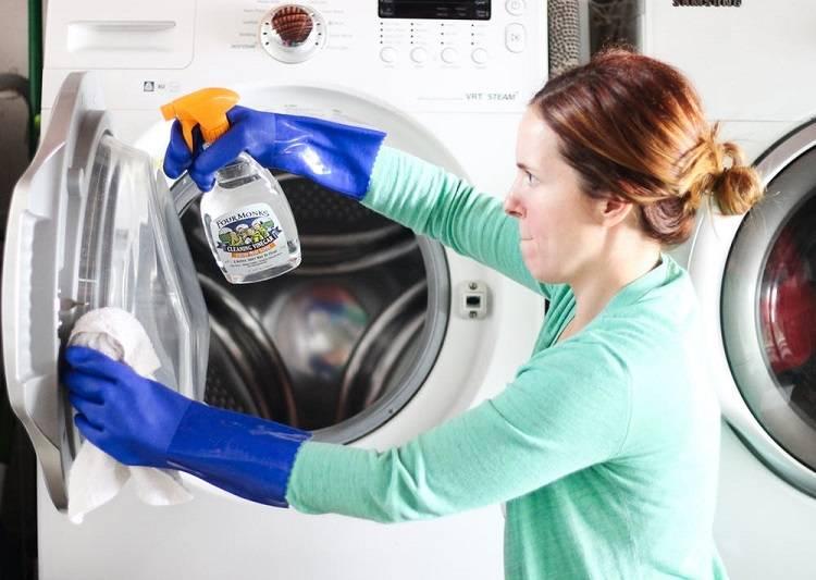 Затхлый запах из стиральной машинки автомат — причины появления и как от него избавиться?