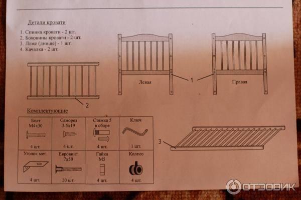 Инструкция, как собрать кровать с подъемным механизмом своими руками
