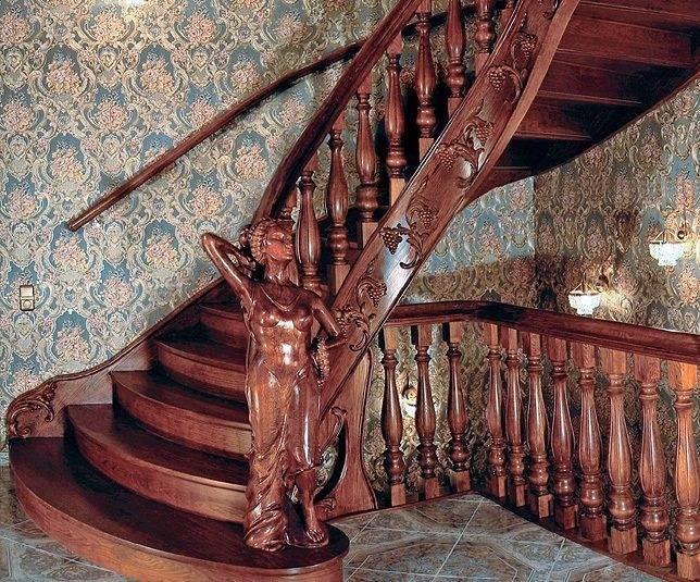 искусству резные маршевые лестницы фото известный всем