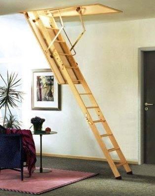 Еще вчера от раздвижных лестниц отказывались, но уже сегодня их монтируют во многих домах