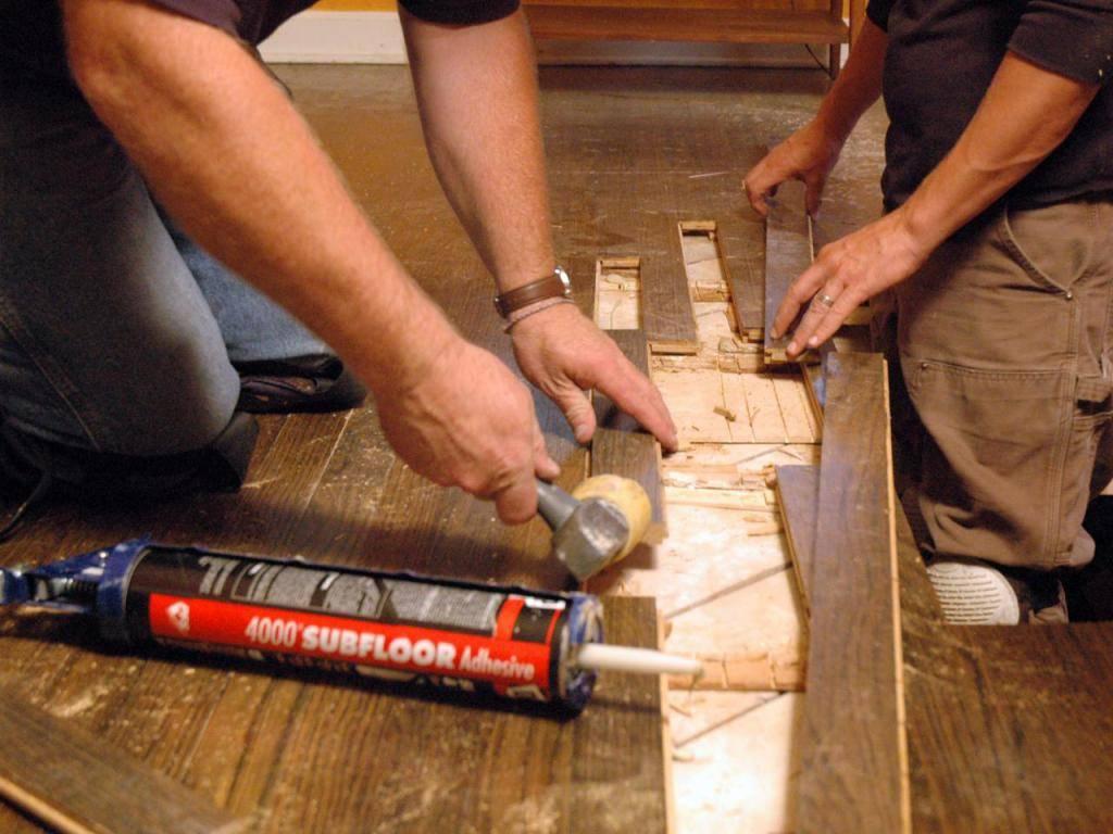 Что делать, чтобы не скрипели деревянные полы?