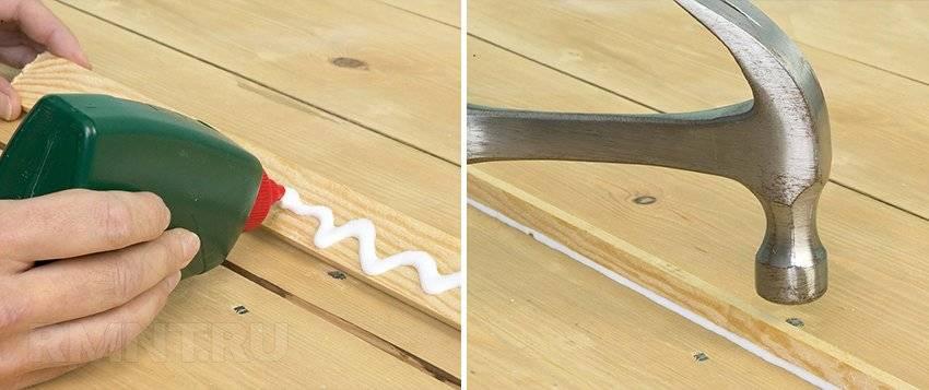 Как устранить скрип паркета в квартире своими руками (в том числе не снимая его) + видео