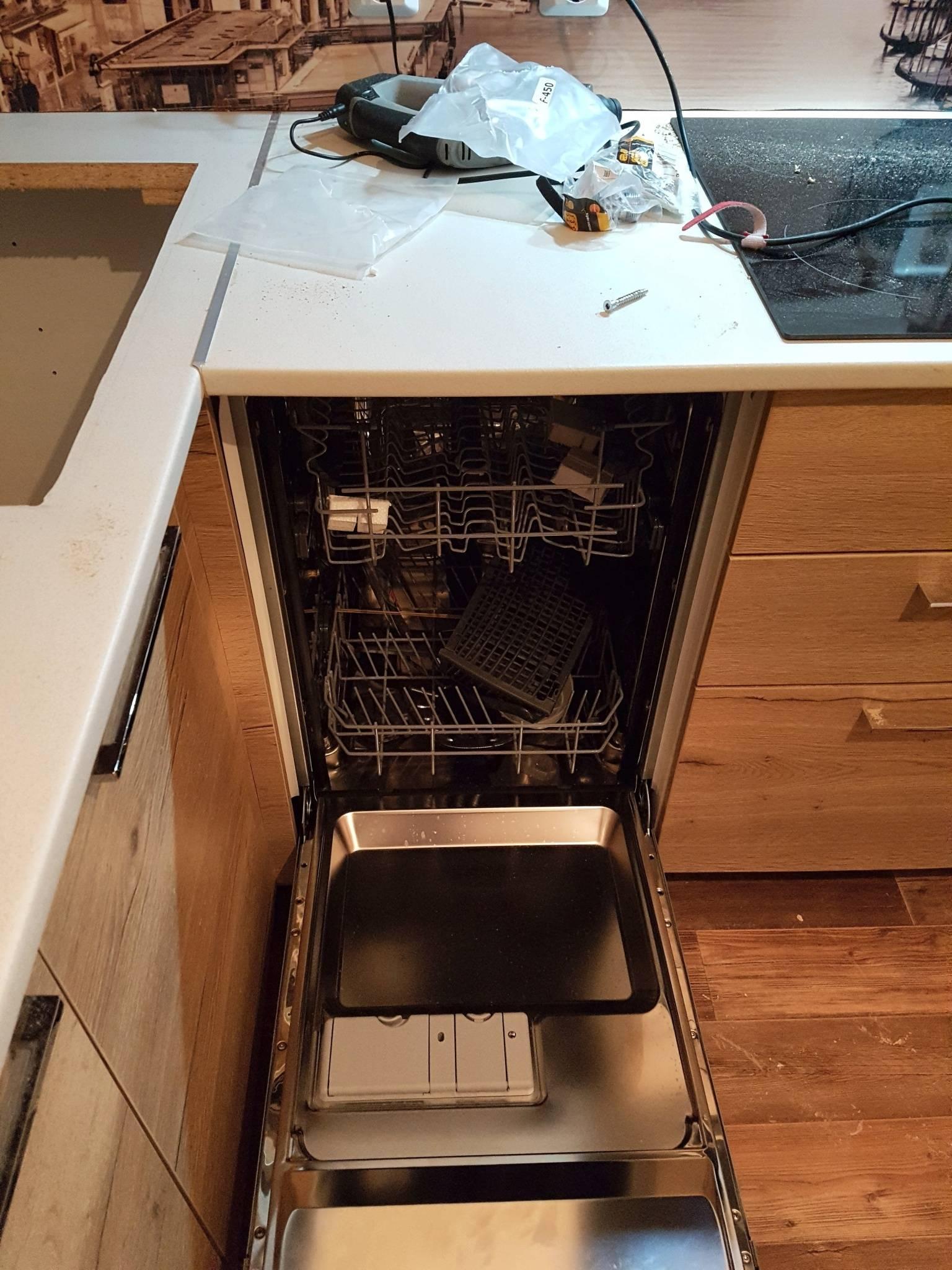 Установка посудомоечной машины допускается в доу