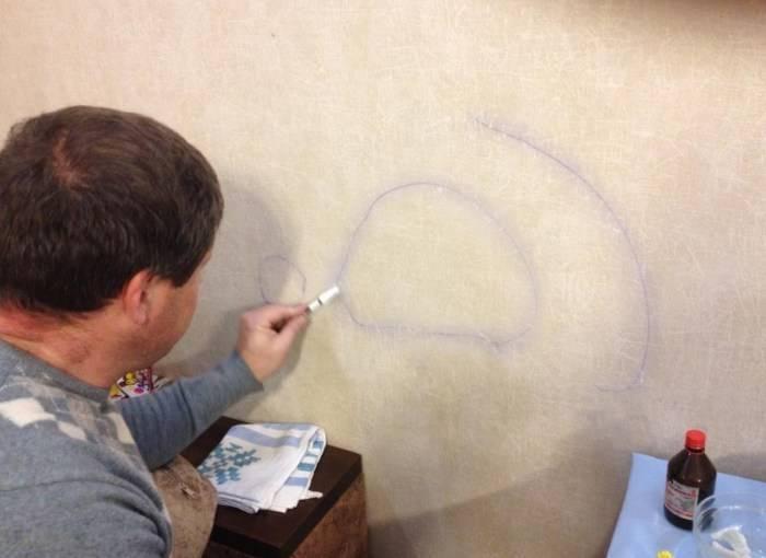 Как оттереть ручку с обоев: эффективные способы, как отмыть пасту со стены, убрать следы, вывести пятна, и не удалить при этом структуру с поверхности