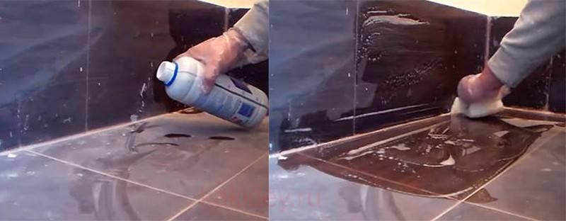 Чем отмыть керамогранит на полу после ремонта