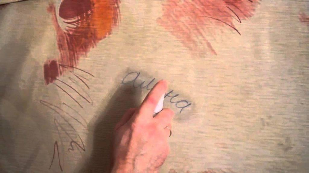 Эффективные методы удаления следов от ручки с обоев средствами, имеющимися дома