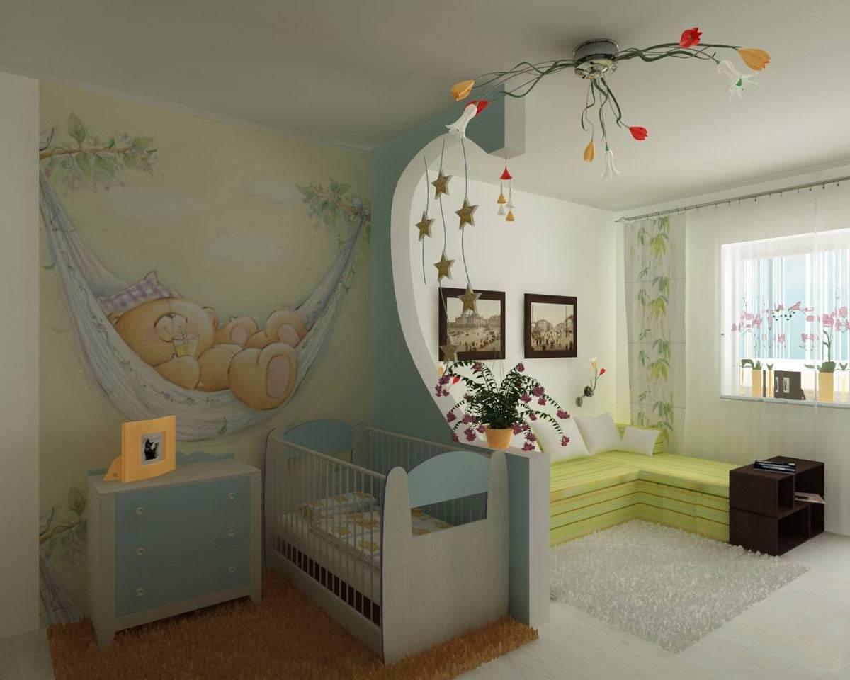 Вариации дизайна комнаты спальня-гостиная 20 кв м
