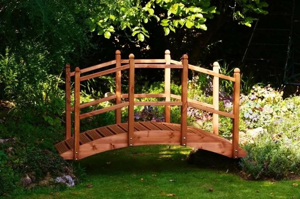 закрытых декоративные мостики для сада из дерева фото есть, во-первых