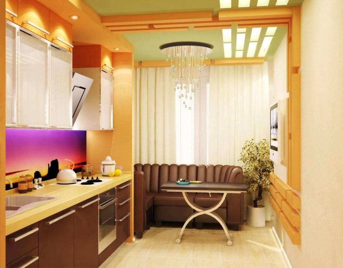 Ремонт балкон совмещенный с кухней фото