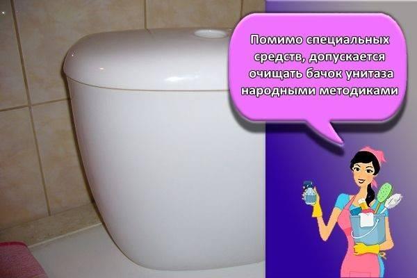 Как почистить унитаз в домашних условиях, чем отмыть бачок и крышку, а также помыть ершик
