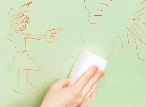 22 средства, чем лучше оттереть ручку с обоев без следов в домашних условиях
