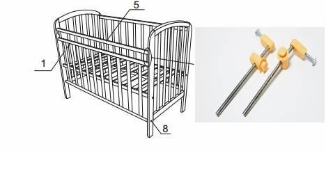 Кроватка своими руками — чертежи и секреты построения корпусной детской кроватки (70 фото-идей)