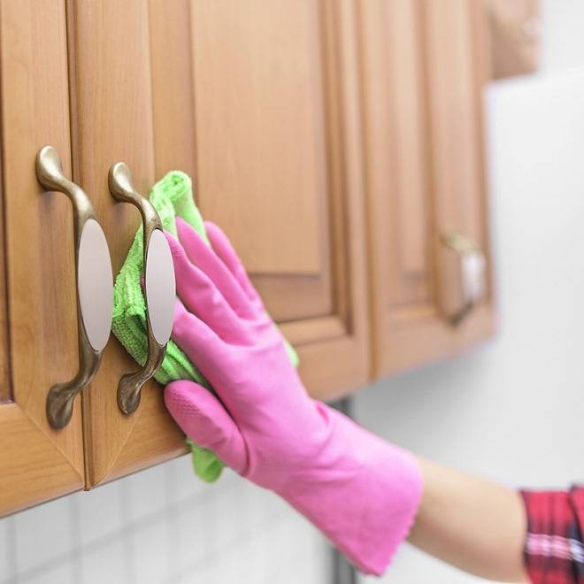 Как отмыть кухонный гарнитур от жира в домашних условиях: проверенные способы