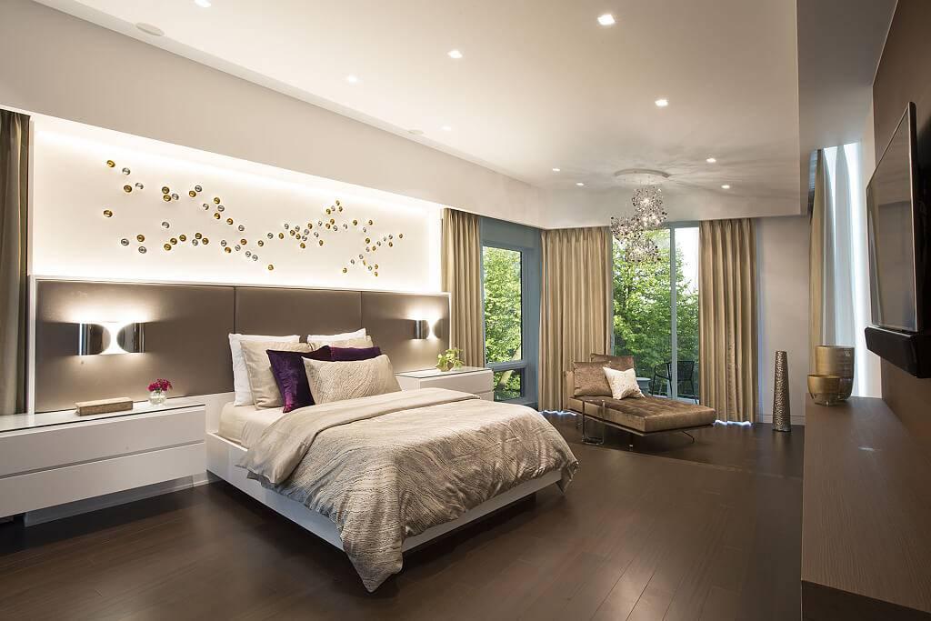 Дизайн стен в спальне: выбор, цвета, варианты оформления и идеи каким должен быть дизайн (95 фото + видео)