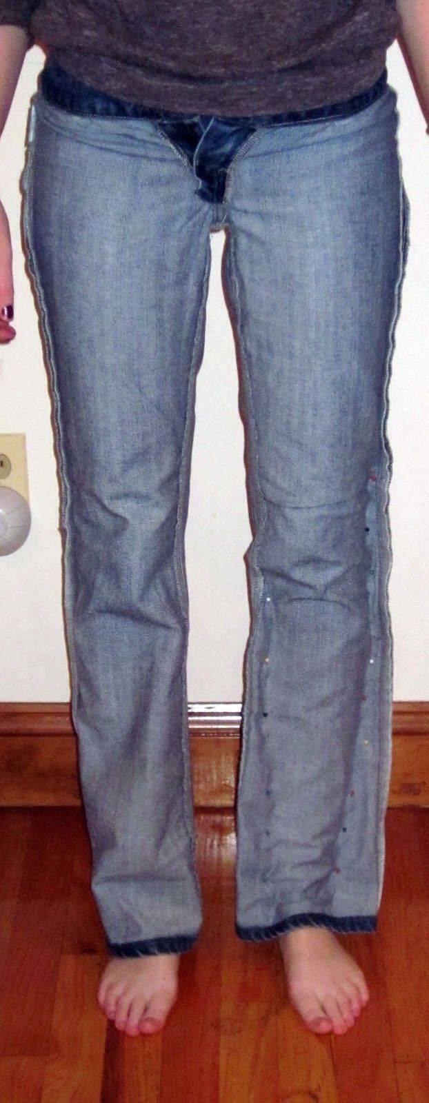 купила сыну брюки большие как ушить фото требованиях