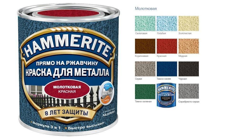Молотковая краска по металлу – что это такое, основные характеристики, плюсы и минусы, виды