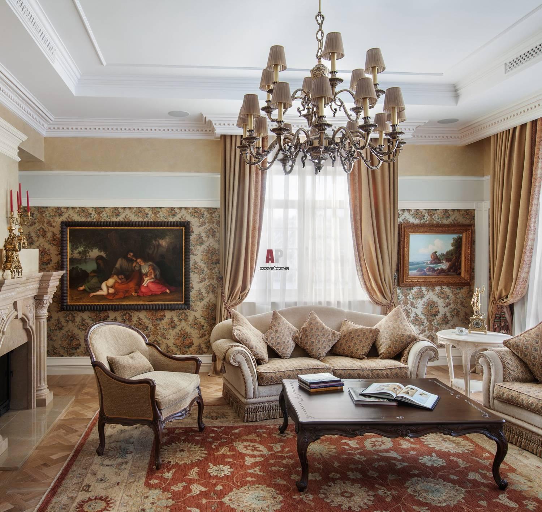 Интерьер гостиной: красивые сочетания и лучшие идеи дизайна. 115 фото популярных вариантов оформления