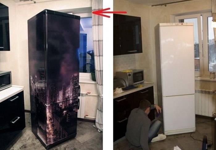 этого чем обклеить холодильник своими руками фото хэллоуин обязательно
