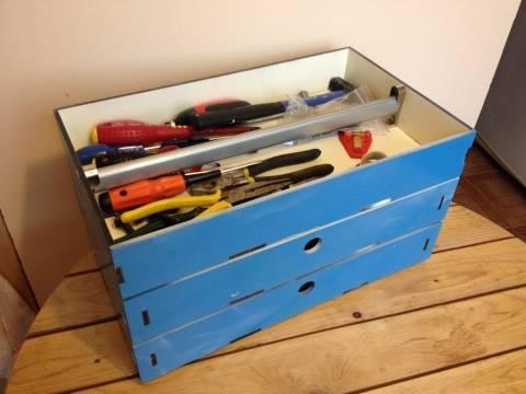 Создание органайзера или ящика для инструментов своими руками
