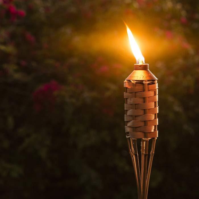 Бамбуковый факел