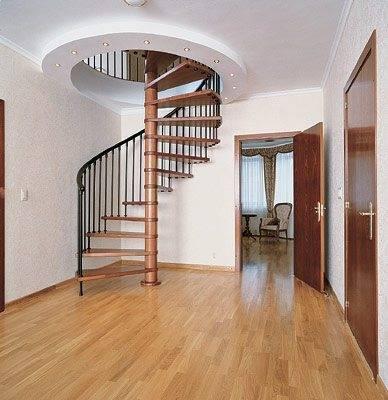 Фото круговой лестницы